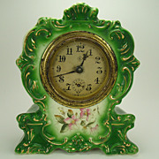 Royal Bonn Porcelain Cased Clock