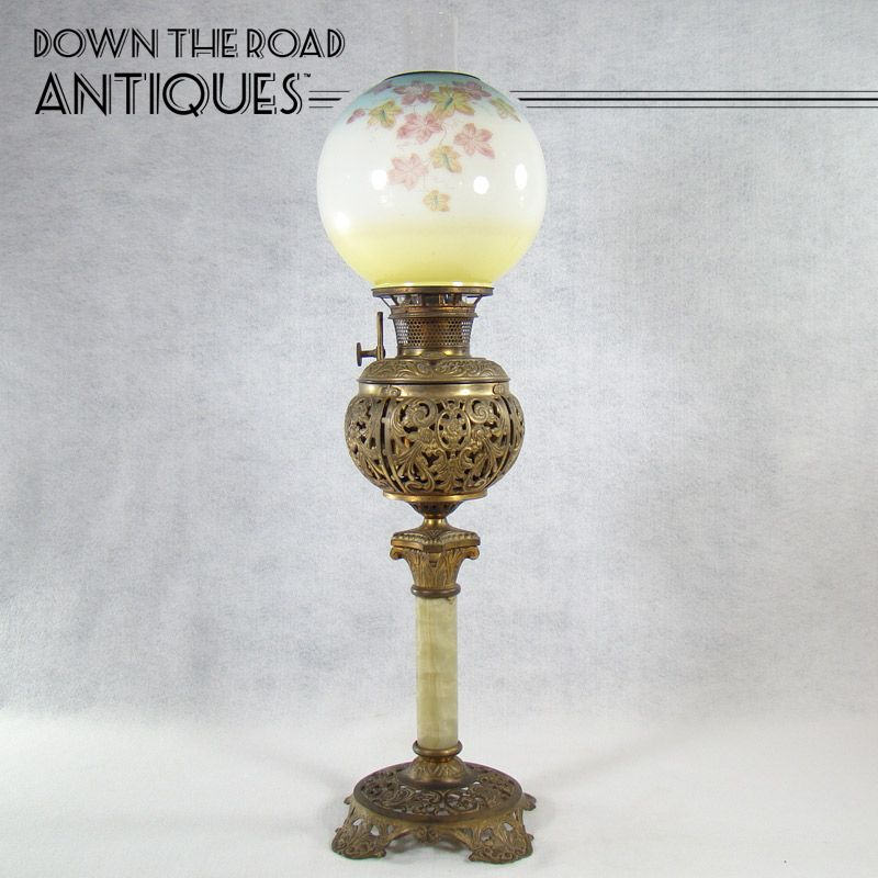 Bradley & Hubbard Banquet Lamp - 1880's SOLD on Ruby Lane