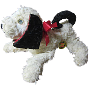 Plush vintage musical dog