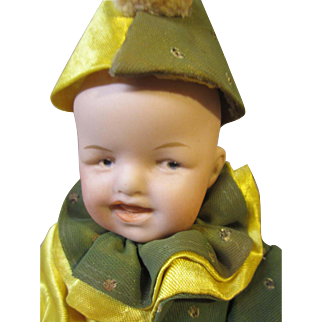 """Gebruder Heubach grinning child, 8"""""""