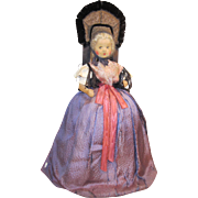 "Tea Cozy Doll, German, 19"" all original"