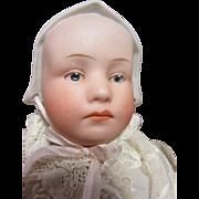 "Gebruder Heubach Baby Stuart, 9"" tall, composition body"