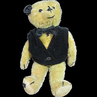 "American Mohair Bear, 1920's, 14"" tall"