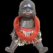 """Heuback Koppelsdorf  black ethnic character baby, all original, 10"""""""