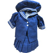 Terri Lee sailor outfit, tagged