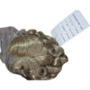 "Blond wig, 10"", Curls, never used"