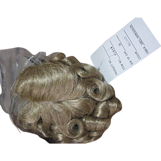 """Blond wig, 10"""", Curls, never used"""