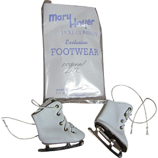 Mary Hoyer Ice Skates, 1980's, new in package