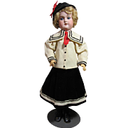 George Borgfeldt Large bisque girl, 25""