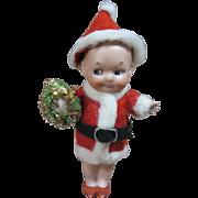 Gebruder Heubach all bisque googly Santa