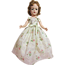 "Mary Hoyer Hard Plastic doll, 14"",  with box"