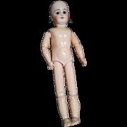 "17"" Antique German Doll for Repair"