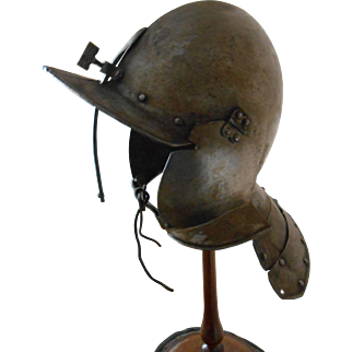 English Civil War Lobster Tail Helmet-1630