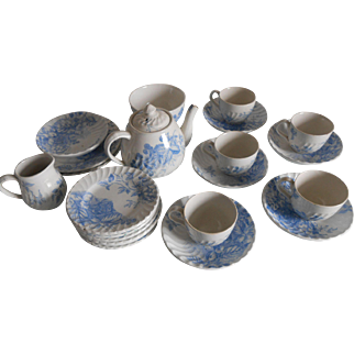 19thC Child's Tea Set-Extensive!