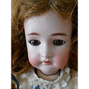 Antique Large Kammer & Reinhardt/Simon Halbig Doll-Pierced Ears!