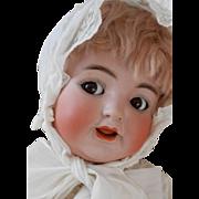 Adorable Antique Kammer & Reinhardt Toddler Flirty Eye Doll-SUPER!