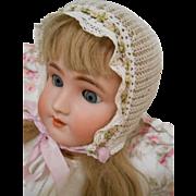 "Antique Kammer & Reinhardt Large Bisque Head Doll-27"", wonderful clothes, beautiful face!"