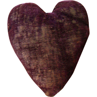 Antique Heart Pin Cushion-great!