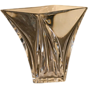 Large, French Art Deco BACCARAT Crystal Vase, Post 1936