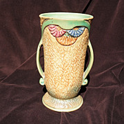 WELLER Pottery Large American Art Deco Vase c. 1928