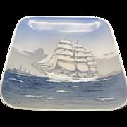 Royal Copenhagen dish skoleskibet TALL SHIP