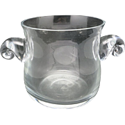 Lenox Ice BUCKET CRYSTAL wine chiller
