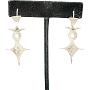 Tribal style earrings Pierced tuareg designs
