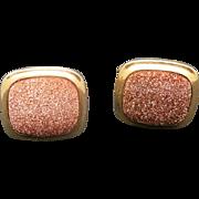 GOLDstone Cufflinks Yellow gold plated METAL
