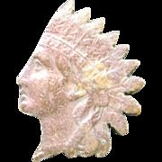 Indian head PENNY copper tie tack