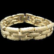 GIVENCHY bracelet gold tone metal LINKS
