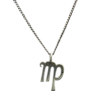 Zodiac Necklace Sterling silver VIRGO