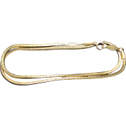 Yellow Gold filled Neck chain lovely links