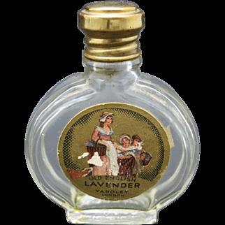 Vintage perfume bottle Yardley Lavender
