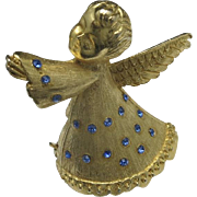 Christmas PIN Charming Angel on your shoulder