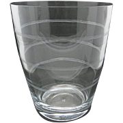 Large Crystal Champagne cooler or ice bucket