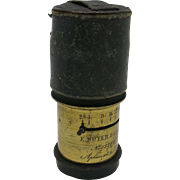 E. Suter Camera lens Aplanat A No. 2 Basel swiss