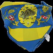 Palio Flag Siena Italy Turtle Tortuga Contrada