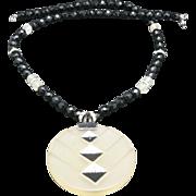 Diane Von Furstenberg Necklace Bold Disco Rhinestones