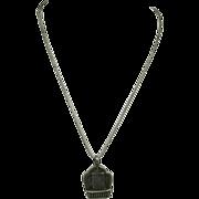 Amulet necklace Tibet Sterling Tibetan tree of life Kalachakra