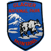 Travel Glacier National Park Montana Patch Mountain GOat