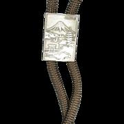 Bolo Tie Boy Scouts of American Japan Mt. Fuji