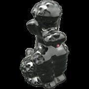 Poodle Goebel PORCELAIN BLACK Standard Dog