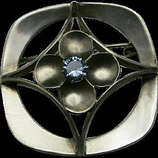Kultaseppa Salovaara Modernist PIN light blue quartz Finland