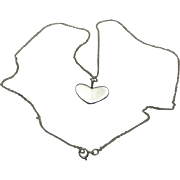Heart Pendant Arne Johansen Necklace Sterling silver