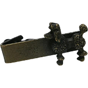 Poodle Tie BAR Brass SMALL