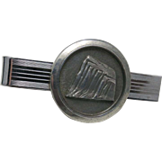 Prudential The rock Tie Bar Sterling silver