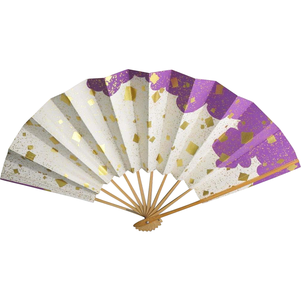 Hand Painted Japanese Fans