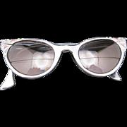 CAT's EYE Glasses Vintage Aluminum Frames J. Hasday