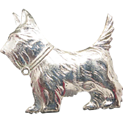 Scottie Pin Westie Brooch Sterling silver dog