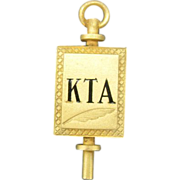 KTA Pin Kappa Tau Alpha Journalism and Communication